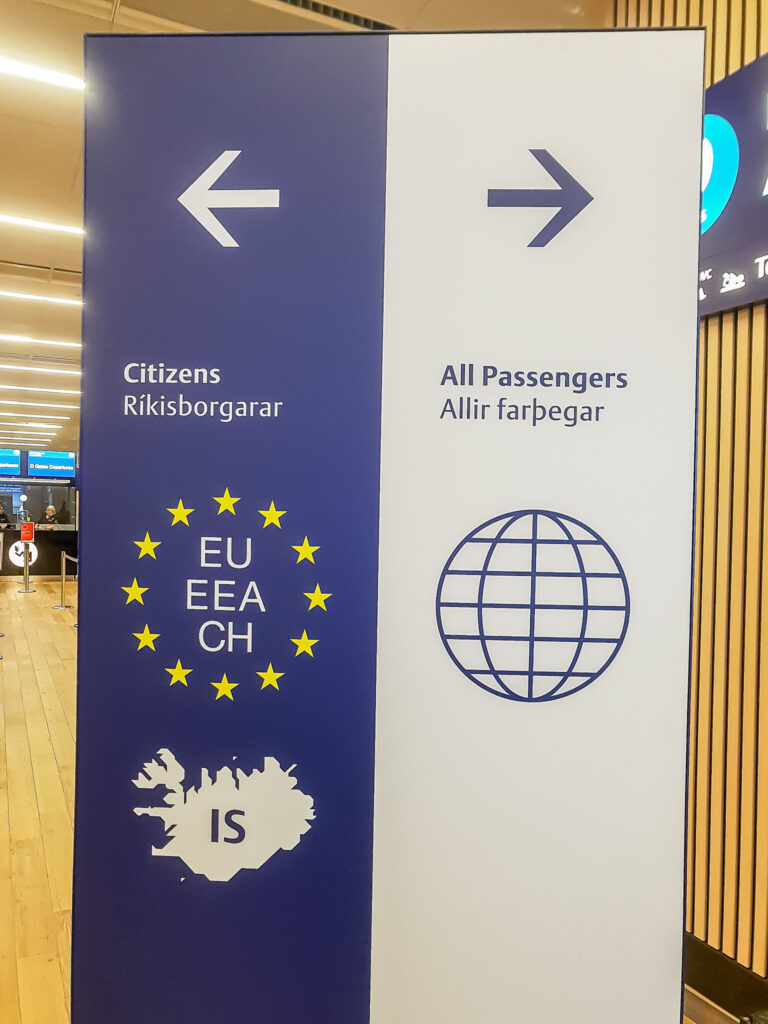 Welcome to Iceland - Keflavik Airport
