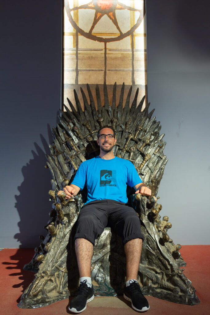 The Throne - Game of Thrones - Lokrum