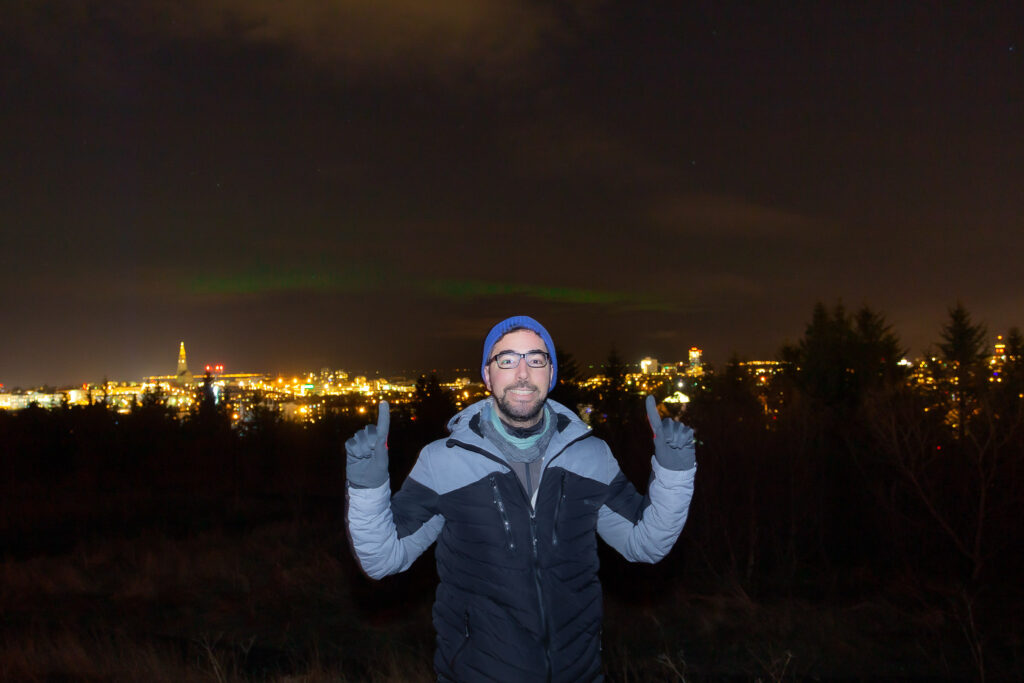 Watching-the-Northern-Lights-in-Reykjavik