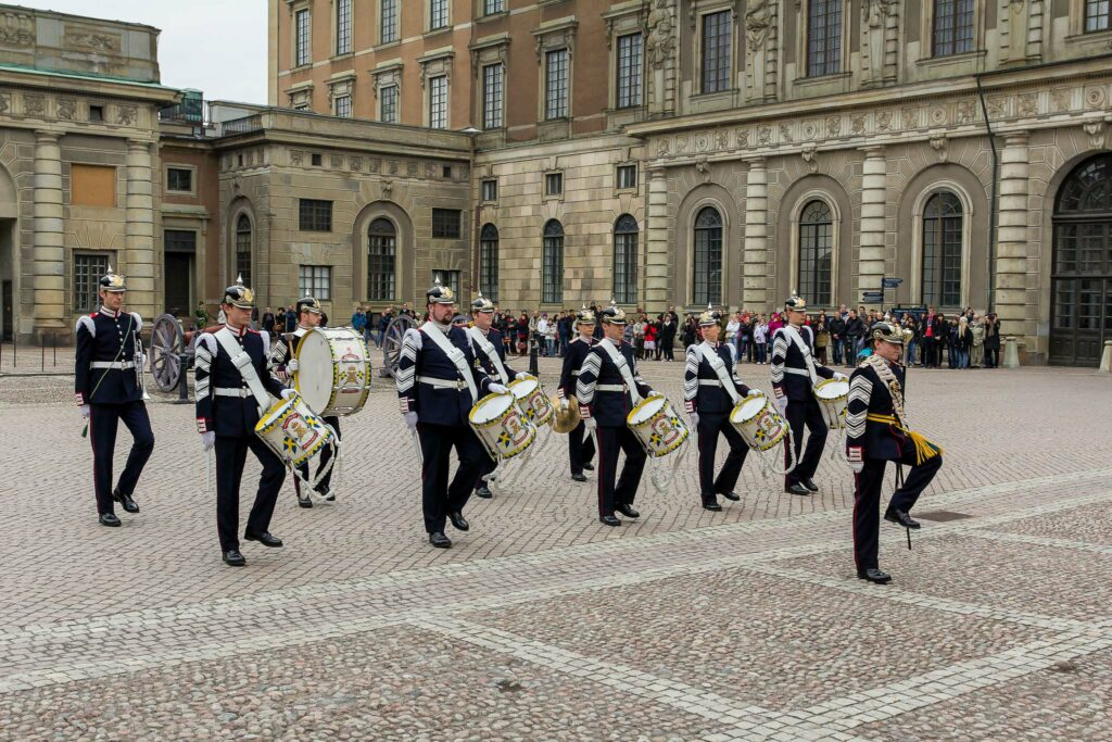 Changing of the Guard Stockholm