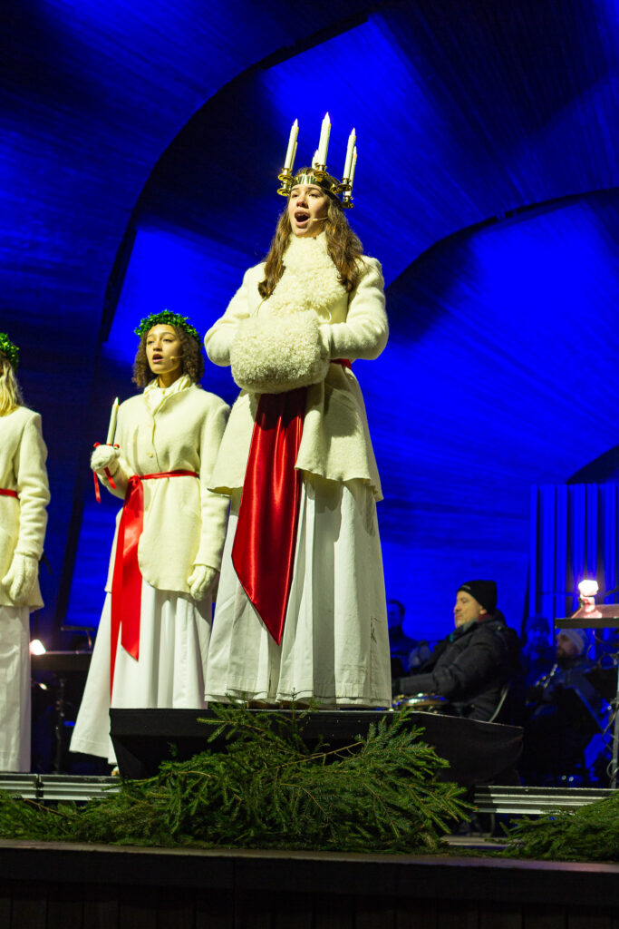 The Lucia Tradition performance Stockholm